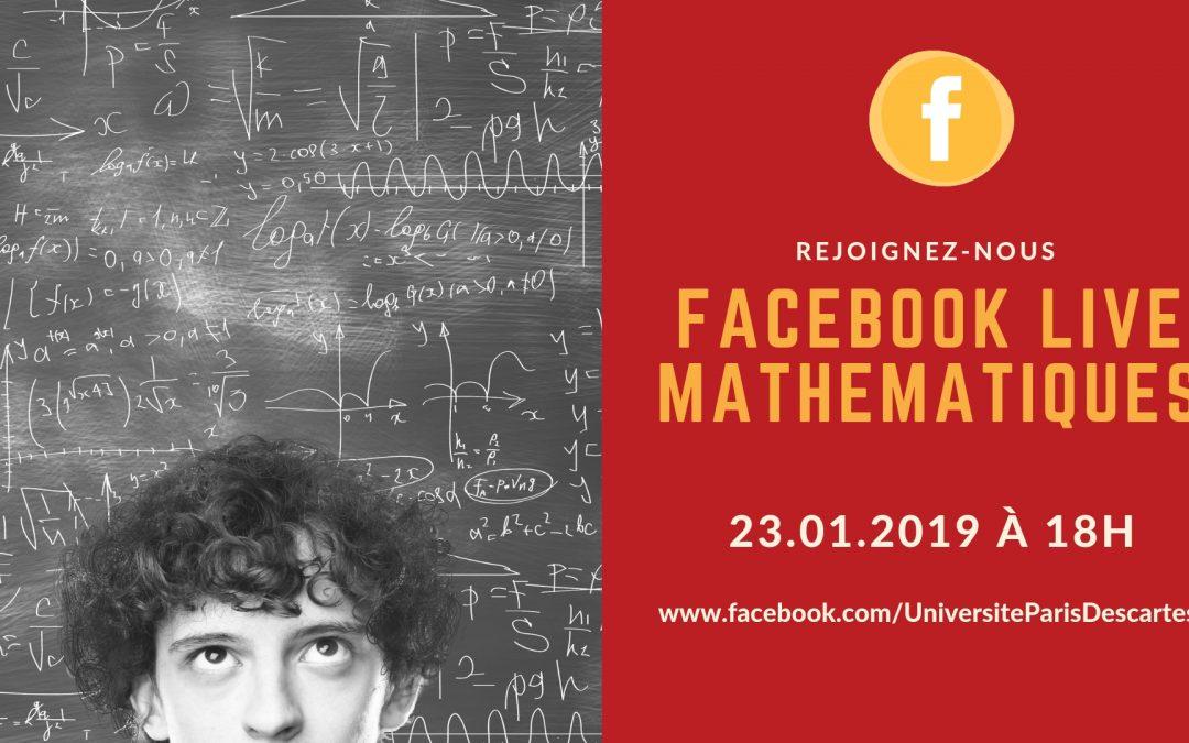 Facebook Live de Mathématiques