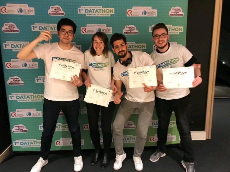 Datathon – 2e et 3e place pour les étudiants MLDS