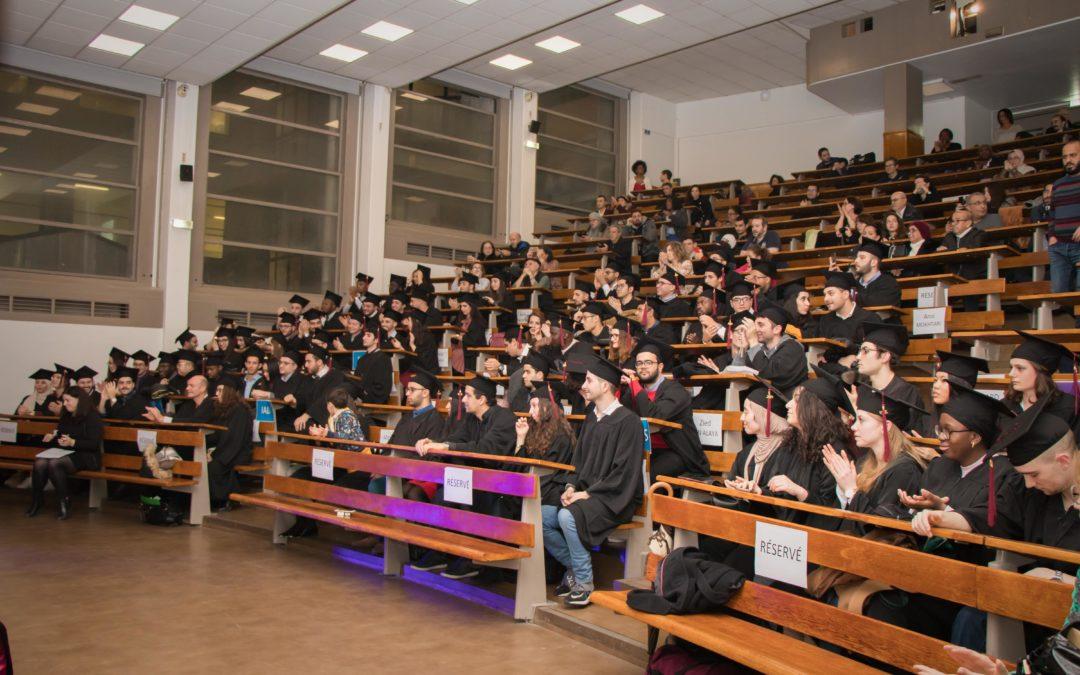 Cérémonie de remise des diplômes – Masters 2019